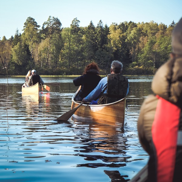 Canoe guided tour in Plateliai